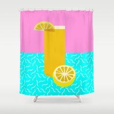 Lemonade /// www.pencilmeinstationery.com Shower Curtain