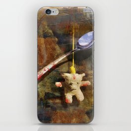 The Care and Feeding of Teddy iPhone Skin