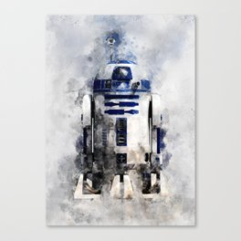 droid in space Canvas Print
