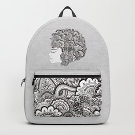 her hair Backpack