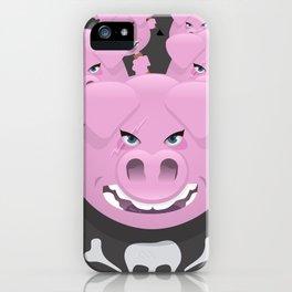 Pigsquad iPhone Case