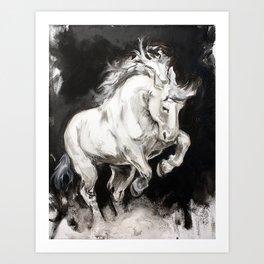 Bucephalus Art Print