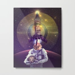 Rocketman Metal Print