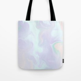 Holographic Marble x Purple Tote Bag
