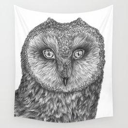 Little Barn Owl Wall Tapestry