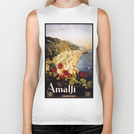 Vintage poster - Amalfi Biker Tank