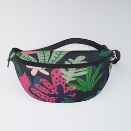 Into the jungle - deep night Fanny Pack