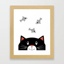 Dreaming of Fish Framed Art Print