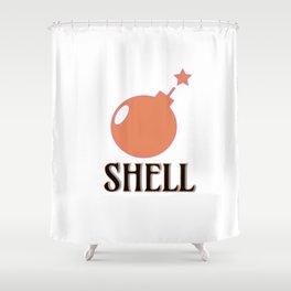 Bombshell #society6 #buyart Shower Curtain
