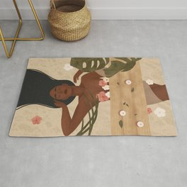 Fall in Love with taking care of Yourself Rug