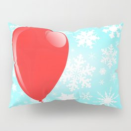 Christmas Balloon Pillow Sham