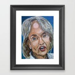 Taliban Republican: Jan Brewer Framed Art Print