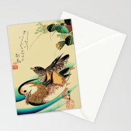 Mandarin Ducks - Vintage Japanese Art Stationery Cards