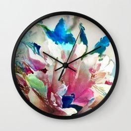 Tropical Dreams Wall Clock