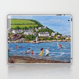 Newquay, Wales Laptop & iPad Skin