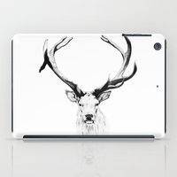 stag iPad Cases featuring STAG by A.J.F