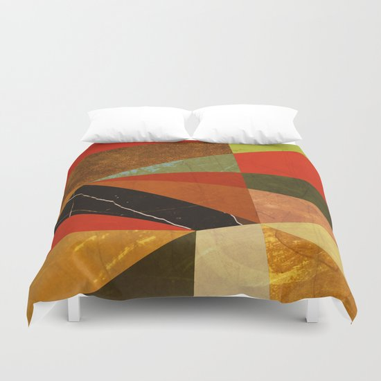 Abstract #257 Vincent's Bedroom Duvet Cover