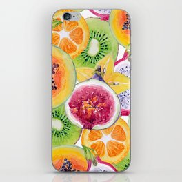 Tutti Frutti summer delight iPhone Skin