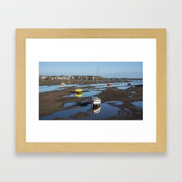 Low Tide at Teignmouth Framed Art Print