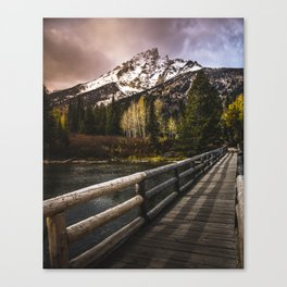 Jenny Lake, Grand Teton NP Canvas Print