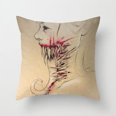 perfectly fine Throw Pillow