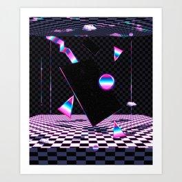 Retro Room Art Print