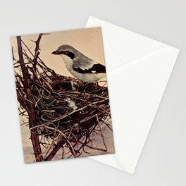 Neltje Blanchan - Bird Neighbours (1903) - Northern Shrike Stationery Cards