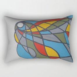 Fluid Lights Rectangular Pillow
