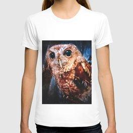 Screech Owl Portrait T-shirt