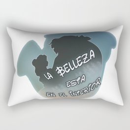 La belleza está en el interior Rectangular Pillow