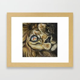 Insecurity Framed Art Print