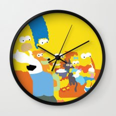 The Simpsons - Family Wall Clock