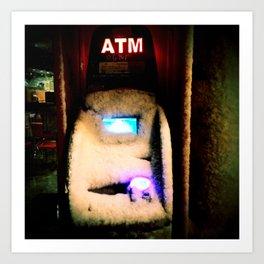 ATM Gangster Art Print