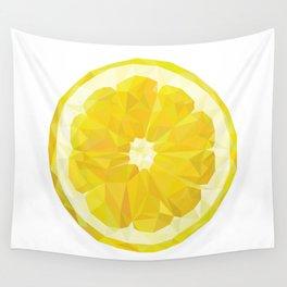 Lemon Slice Wall Tapestry