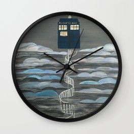 Doctor Who Magical Staircase Wall Clock