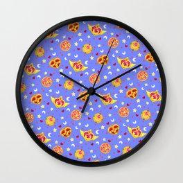 Sailor Moon Brooches Pattern - Blue / Sailor Moon Wall Clock
