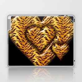 Cheetah Heart HD by JC LOGAN 4 Simply Blessed Laptop & iPad Skin