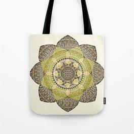Hena Flower Tote Bag