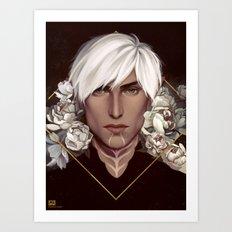 Dragon Age 2: Fenris Art Print