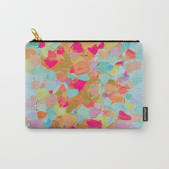 Pink Flamingo Party Carry-All Pouch