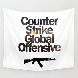 Counter Strike - Global Offensive  Wall Tapestry