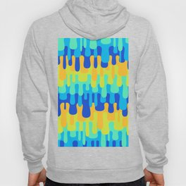 Funny Liquid Abstract Colorful Pattern 009 Hoody