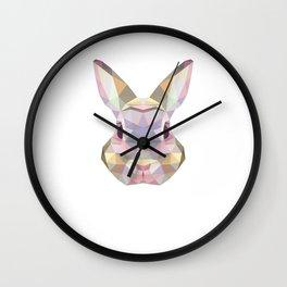 Bunny Awesome Hare Rabbit Wildlife Cony Nature Pet Coney Animals Gift Wall Clock