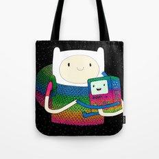 BMO & Finn Fan Art Tote Bag