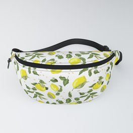 Lemon Branches with Fruits Fanny Pack
