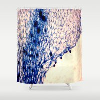 artsy Shower Curtains featuring organic artsy by lylychang5