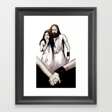 Until The End Of The World Framed Art Print