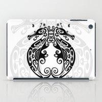 sea horse iPad Cases featuring Sea Horse by ceceï