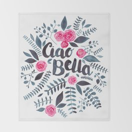 Ciao Bella Throw Blanket