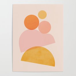 Abstraction_SHAPE_PLAYFUL_DAY_Minimalism_001 Poster